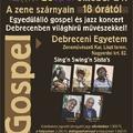Koncertajánló - Jazz and Gospel