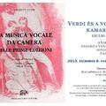 Verdi vokális kamarazenéje