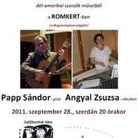 Különleges gitár-vibrafon duo koncertajánló