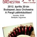 Budapest Jazz Orchestra Debrecenben!