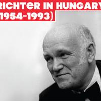 LISZT VAN EBBEN IS! : RICHTER IN HUNGARY (1954-1993) BMC 14 CD BOX SET