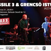 Jazzbarátkör programajánló! - Fossile 3 & Grencsó a Modem-ben!!!