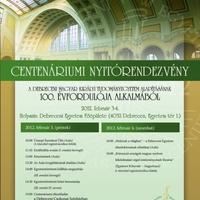Kétnapos centenáriumi ünnepi rendezvény a Magyar Királyi Tudományegyetem alapításának 100. évfordulója alkalmából