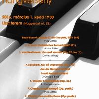 Zongoraavató hangverseny!!!