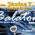 Szombati programajánló - Balaton koncert a Sikk-ben!