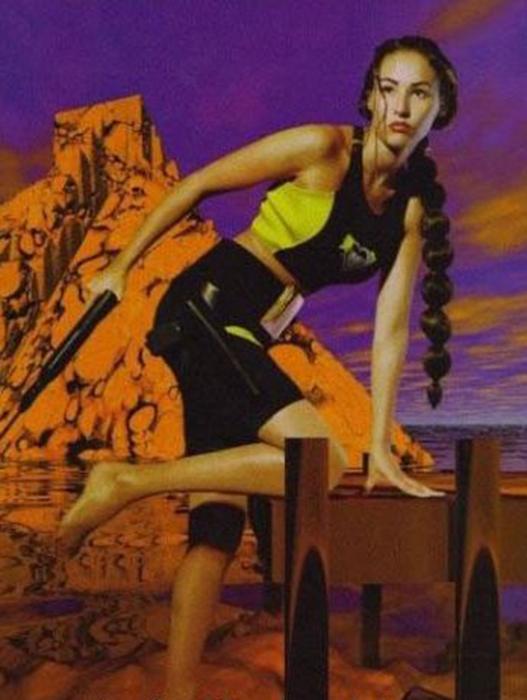 A francia Vanessa sem hivatalosan öltötte magára Lara jelmezét, ám az Eidos Franciaországnak nem volt kifogása ellene, hogy így népszerűsítse a játékot. A Tomb Raider II megjelenésekor VSD Jeux nevű francia magazin címlapján pózolt Laraként, s hazájában máig ő a legnépszerűbb Lara modell, a franciák ráadásul őt szerették volna a filmváltozat főszereplőjeként látni.