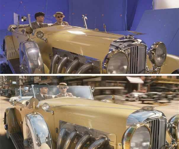 Még mindig A nagy Gatsby: DiCaprio kocsit hajt. Vagy nem.