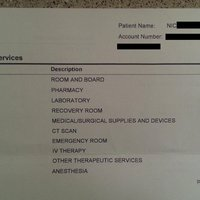Így néz ki egy amerikai kórházi számla