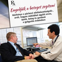 Végre könyvben magyarul: Engedjük a beteget segíteni!