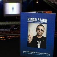 Életműdíjat kapott Ringo Starr a David Lynch Alapítványtól
