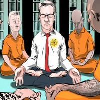 A meditáló seriff - Transzcendentális Meditációt gyakorolnak az elítéltek San Franciscoban