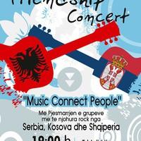 Barátság rock koncert Tiranában