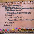 Hacker szülinapi torta :)