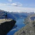 Norvégia 11-14. nap: a szikla a semmi fölött és a troll nyelve - az ország legdurvább látnivalói még a képzeletednek is merészek :)
