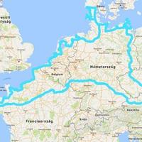 Sátorral, négy keréken Nyugat-Európában