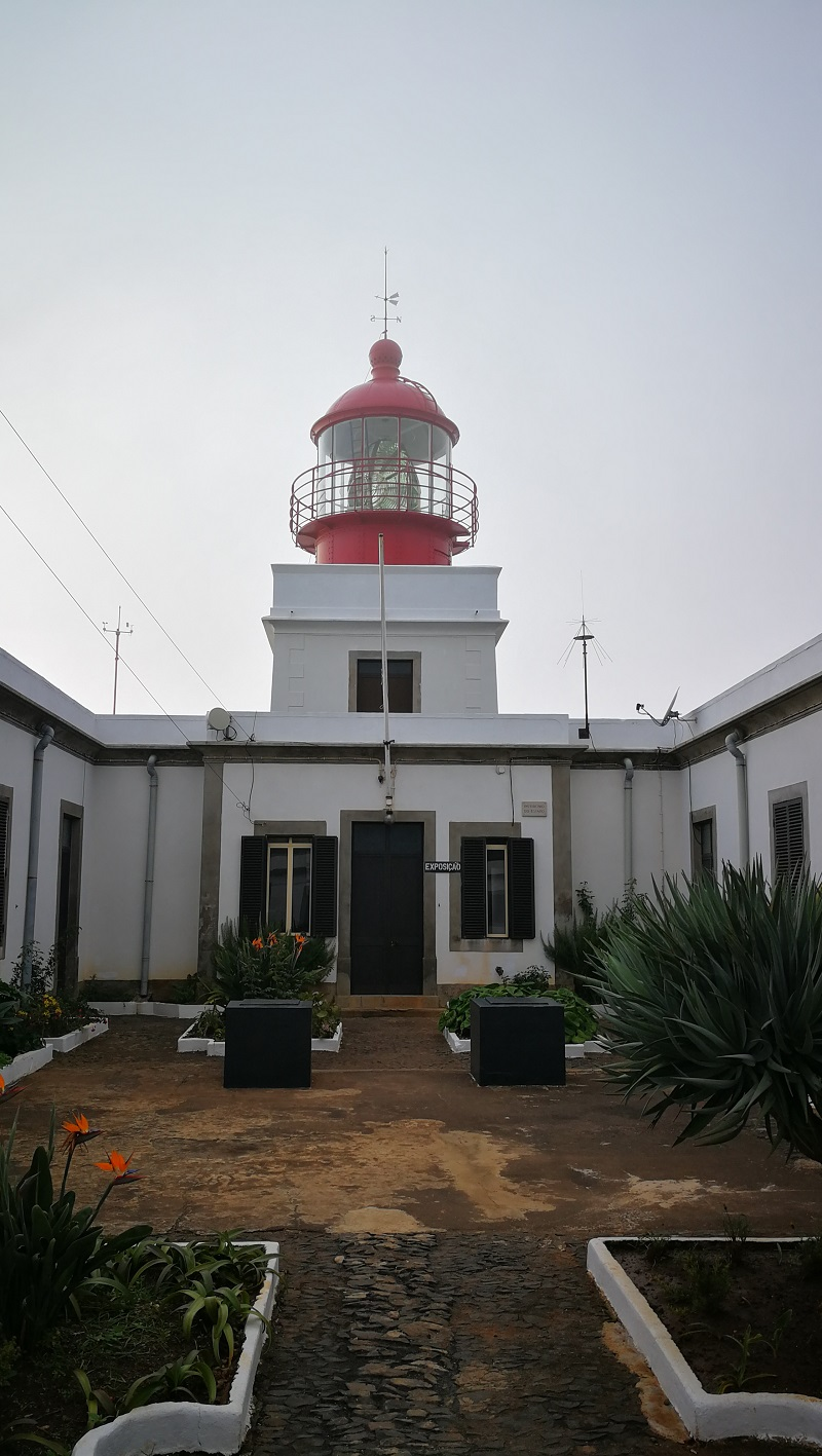 Ponta da Pargo világítótornya - napközben kiállítás tekinthető meg benne