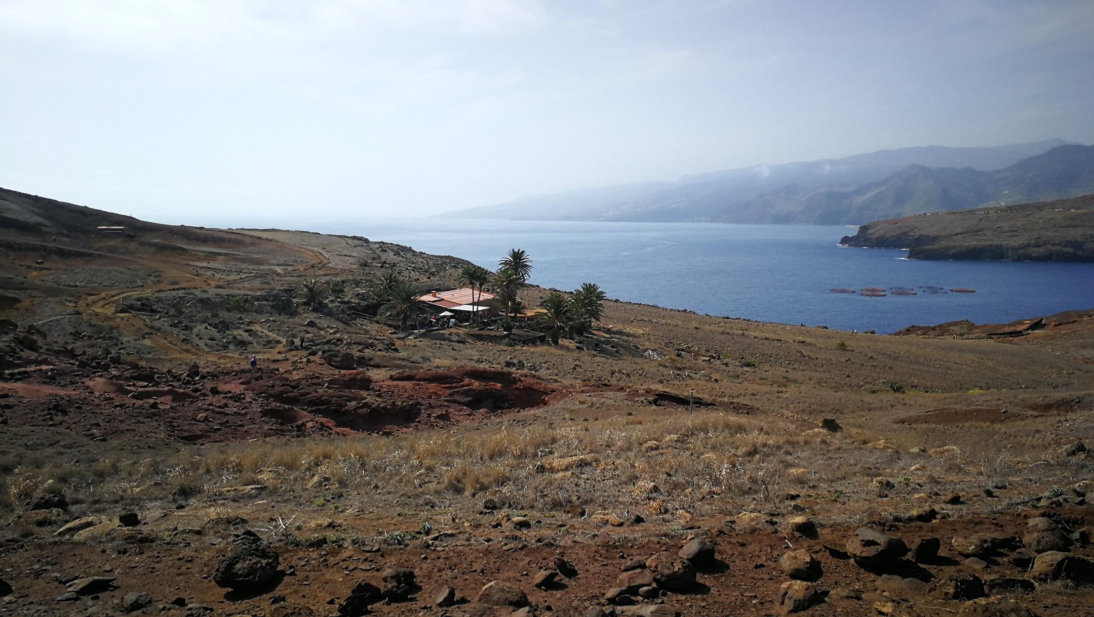 Casa do Sardinha kis önellátó oázisa