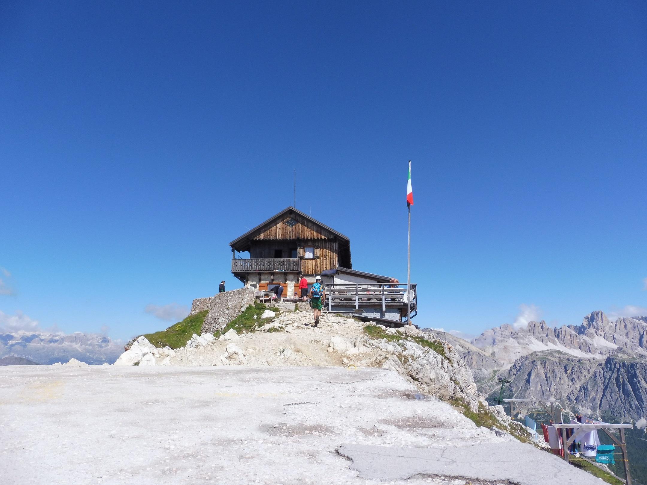 Rifugio Nuvolau (2.575 m)