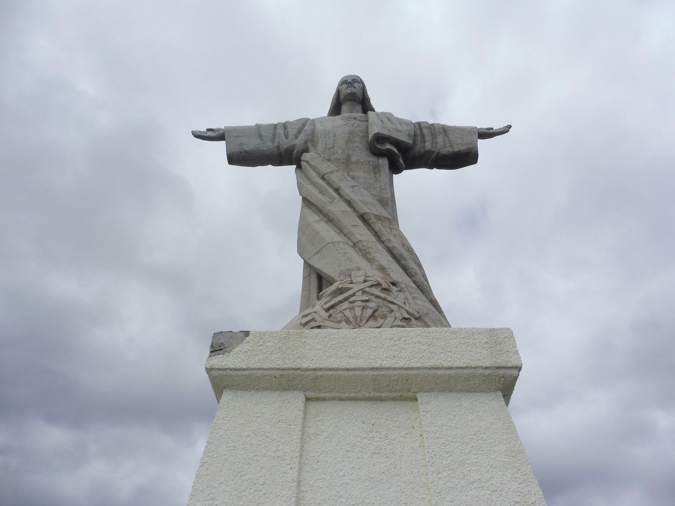 A Megváltó Krisztus szobra