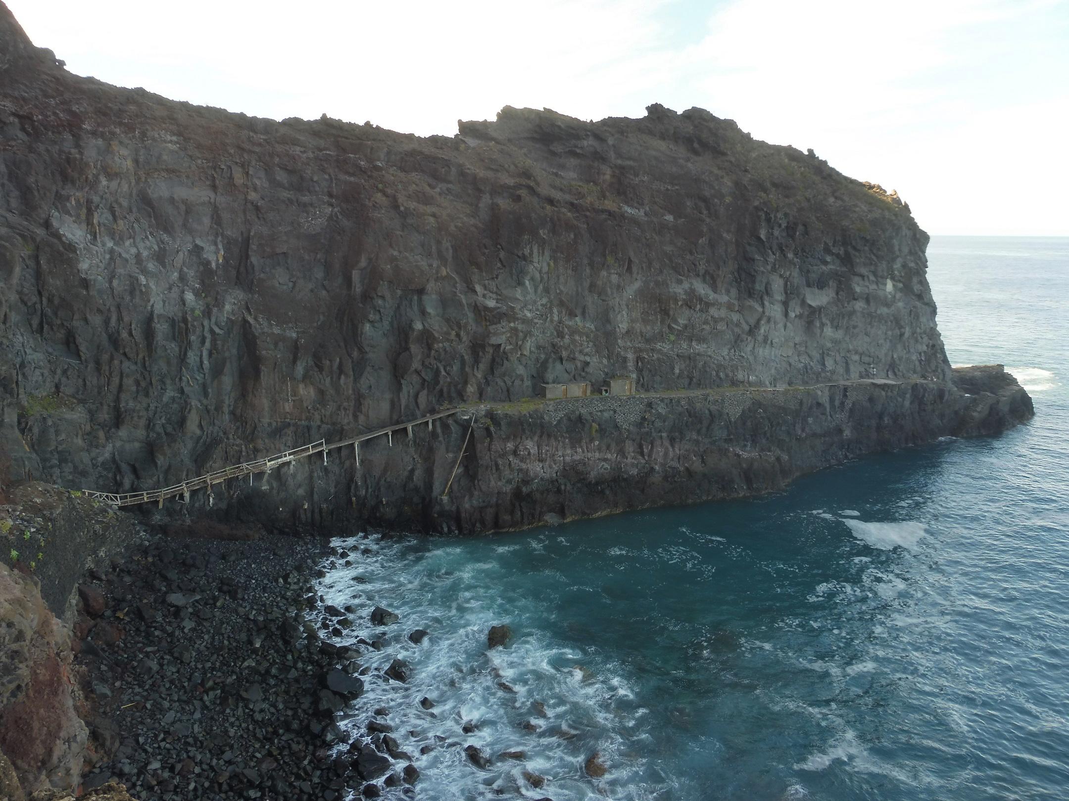 Ponta de São Jorge, a horgászok törzshelye