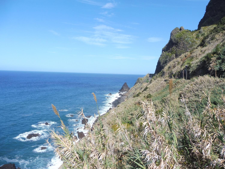 Kilátópont Sao Vicente és Ponta Delgada között