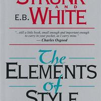 William Strunk Jr. - E. B. White: The Elements of Style - megéri?