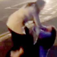 Megfélemlítő lányok rendőrségi kivizsgálás alatt:  Döbbenetes videó az általuk folytatott megalázásról.