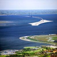 Európa leghosszabb közúti-vasúti hídja - Öresund híd