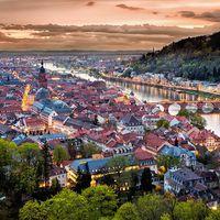 A német romantika képviselője - Heidelberg