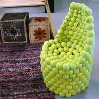 Teniszlabdafotel