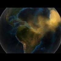 A Szahara táplálja Amazóniát