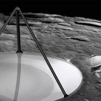 Óriásteleszkóp holdporból