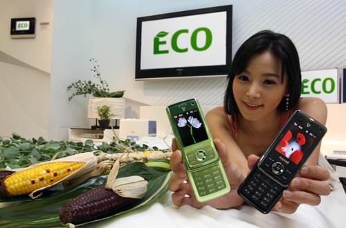 Környezetbarát mobiltelefon a Samsungtól