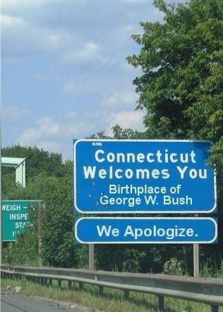 Itt született George W. Bush - Elnézést kérünk
