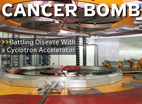Részecskegyorsítóval a rák ellen