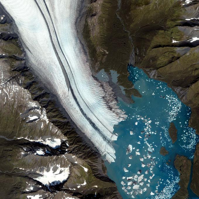 Gleccserek az űrből