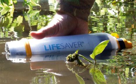 Víztisztító palack