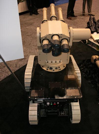 Robotizált fémvihar