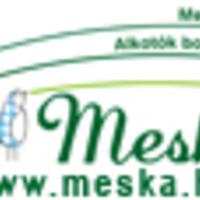 Csilla és kézimunkái a Meskán