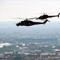 Magyar harci helikopter a Die Hard 5-ben