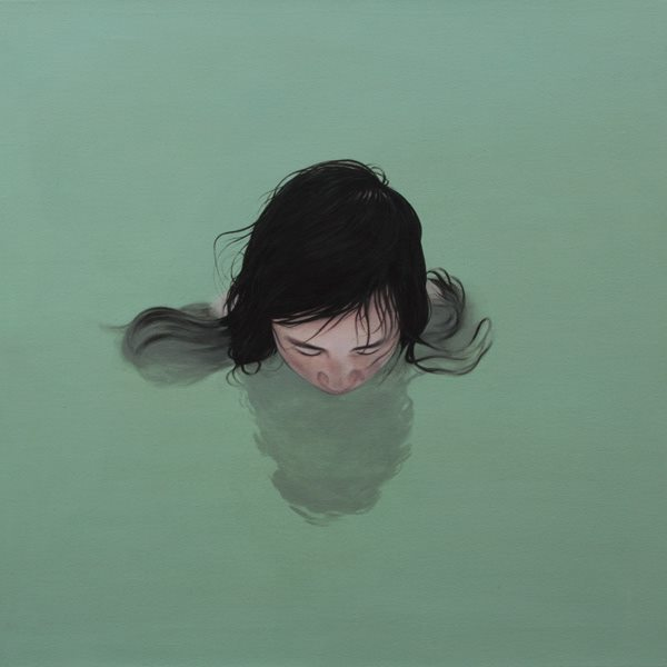 vízben