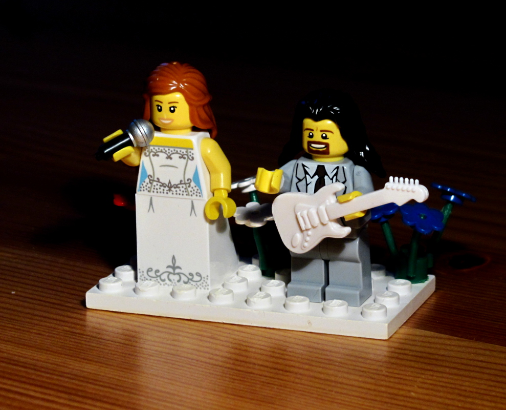 lego esküvő