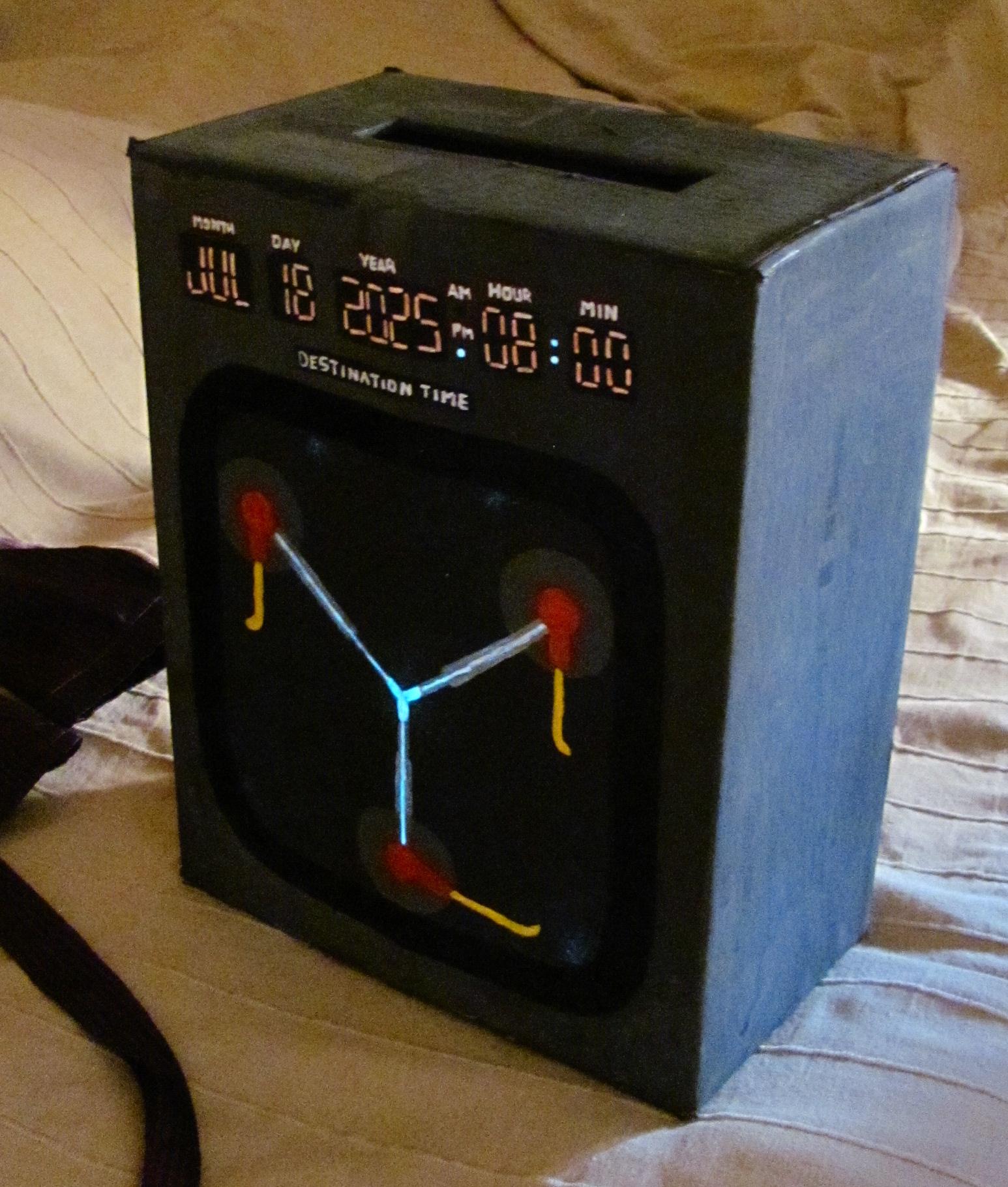Az időgép, meg a világítós festékkel játszás :D