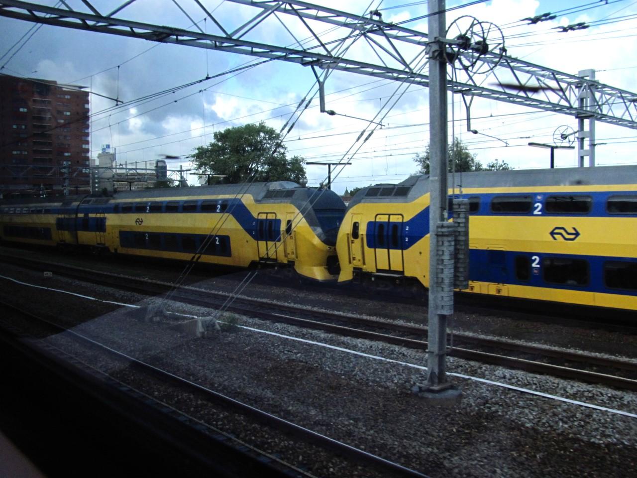 Így utaztunk Amszterdamba, sose láttam még előtte emeletes vonatot