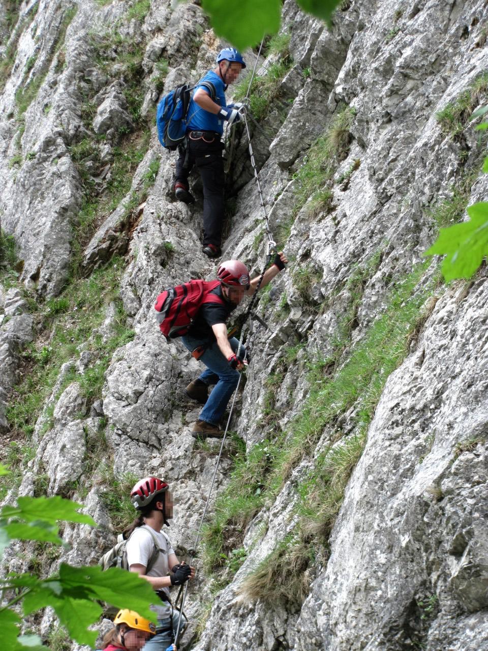 Megindult a mászás