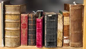 régi könyvek illusztráció