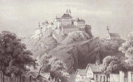 veszprémi vár XIX. század