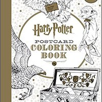 Harry Potter Postcard Coloring Book Download.zip