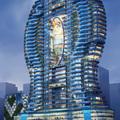 Úszómedencés toronyház