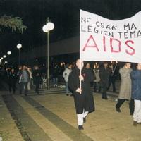HALOTT CSEND A MAGYAR AIDS-FELVILÁGOSÍTÁS! II.